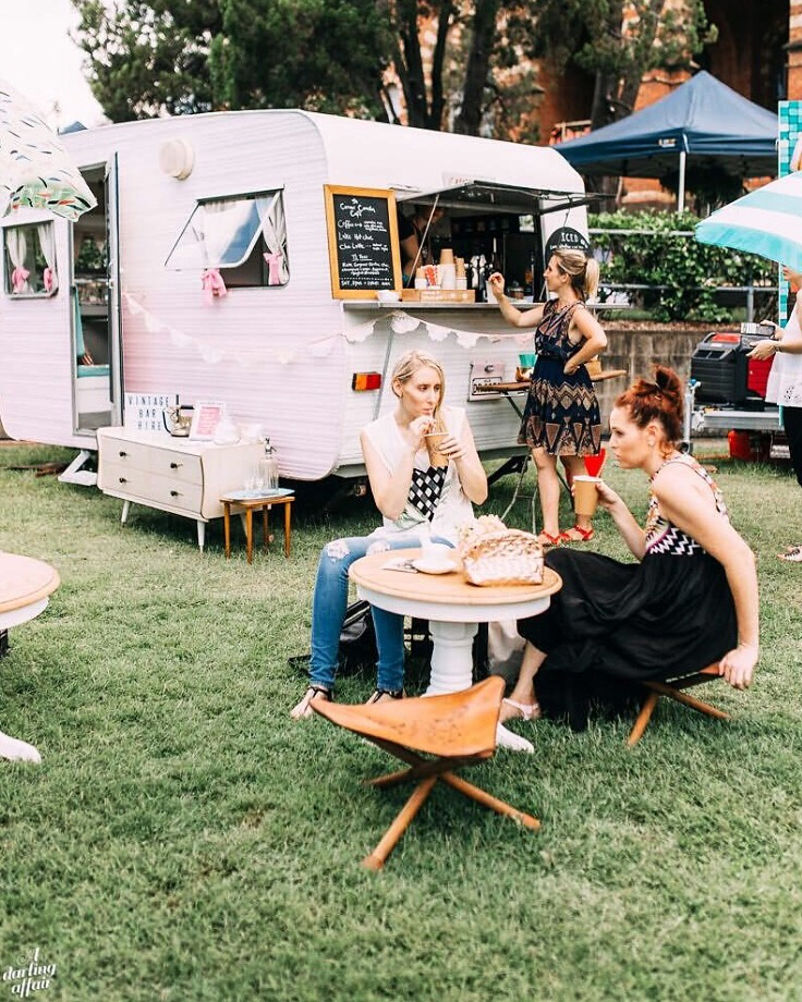 The curious caravan, tea, bar hire, gold coast, wedding catering, event catering, gold coast tipis, gold coast, marquee hire