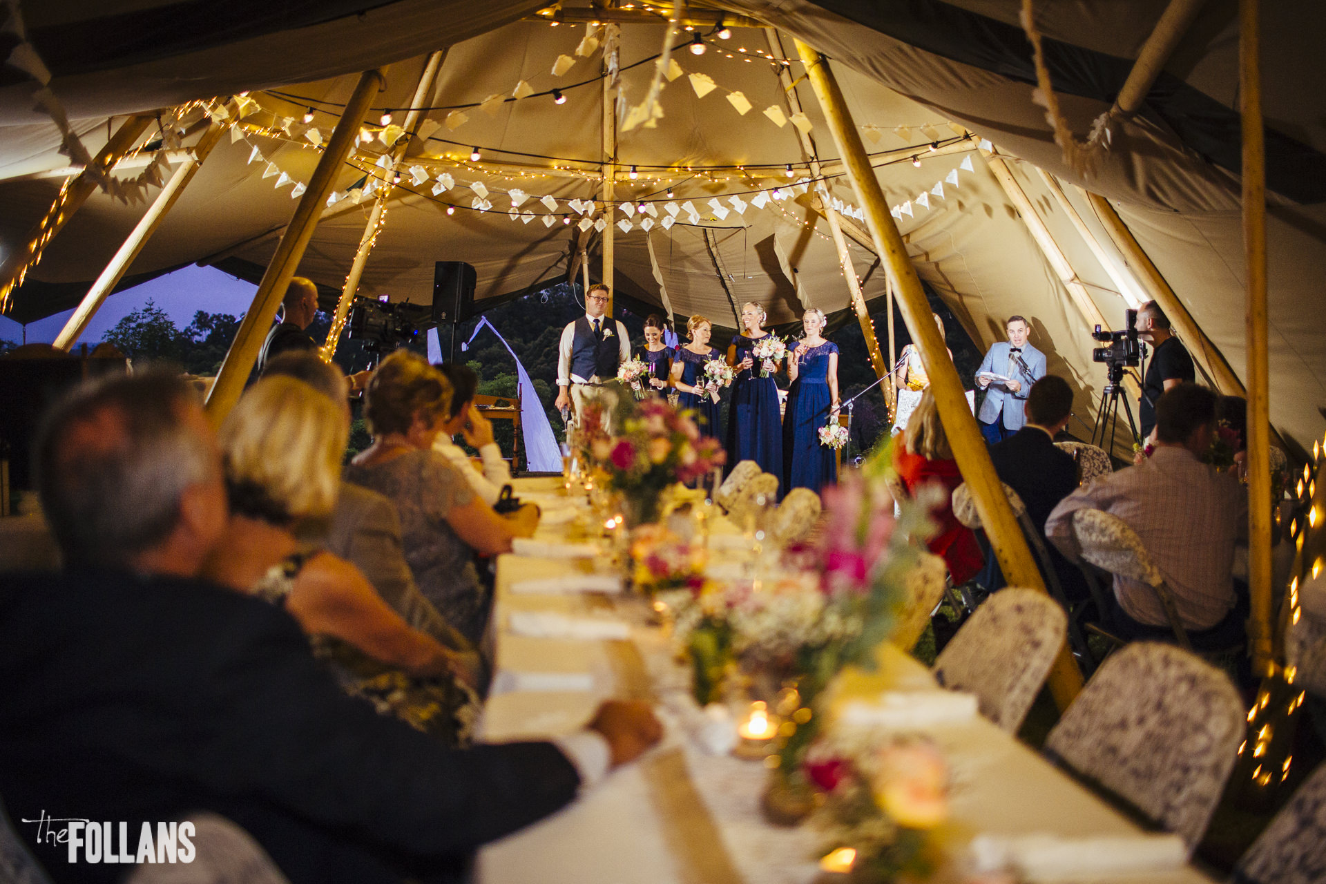 tipi hire, marquee hire, vintage wedding, themed wedding, gold coast, wedding table