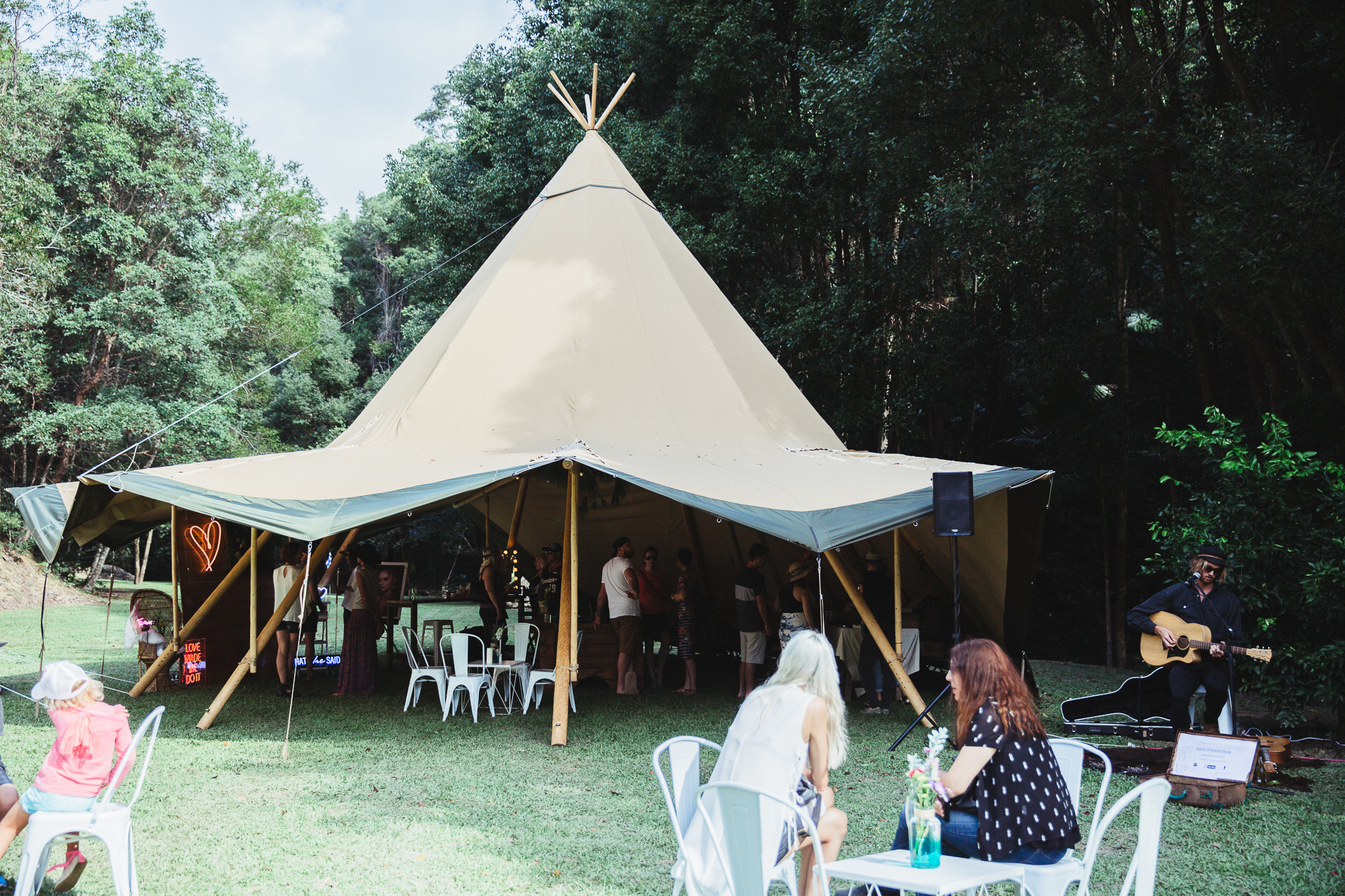 One stunning Kata Tipi at the heart of our Wedfest Showcase.