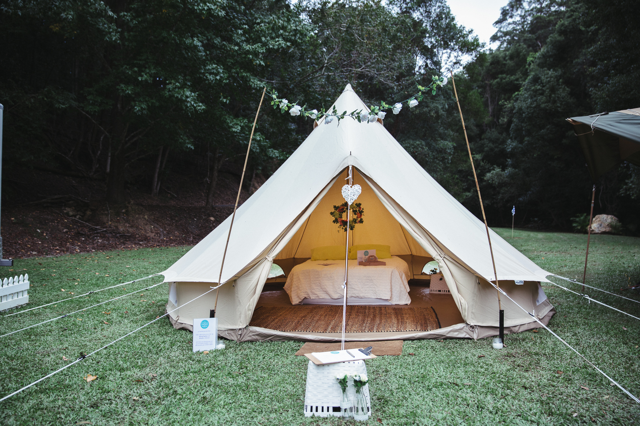 Gold coast tipis, wedfest, wedding, marquee hire, gold coast, glamping