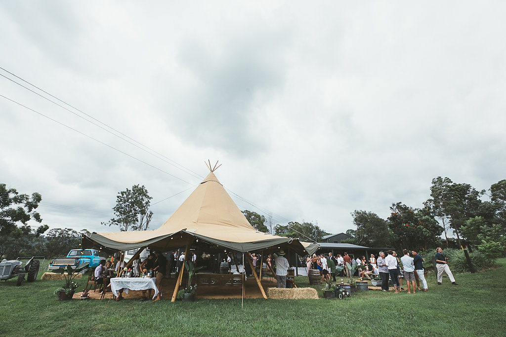 Gold coast tipis, tipi wedding, nsw, marquee hire