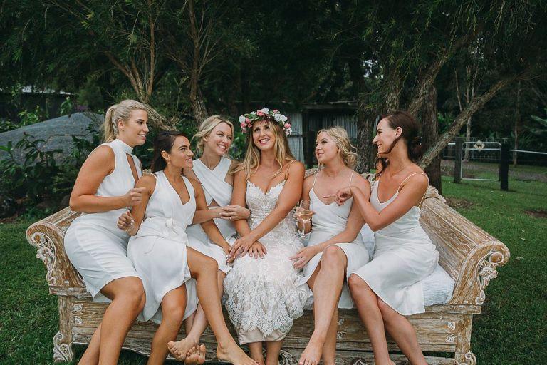 Gold coast tipis, tipi wedding, nsw, marquee hire, bridesmaids