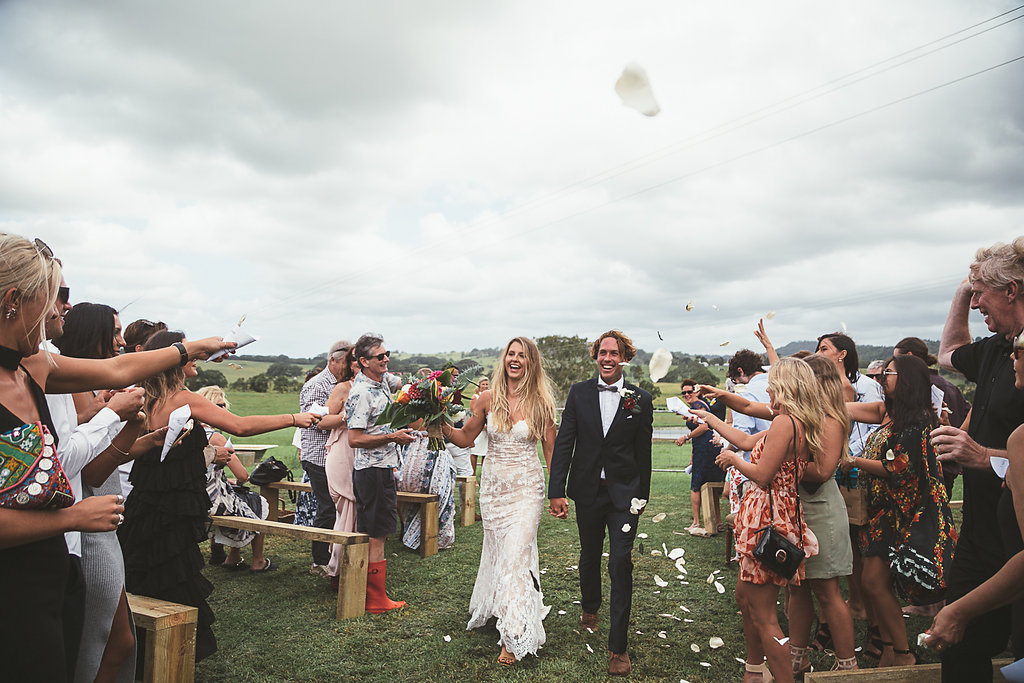 Gold coast tipis, tipi wedding, nsw, marquee hire, just married