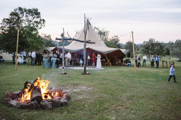 gold coast tipis, gold coast brides, diy wedding, boho wedding, large marquee hire, gold