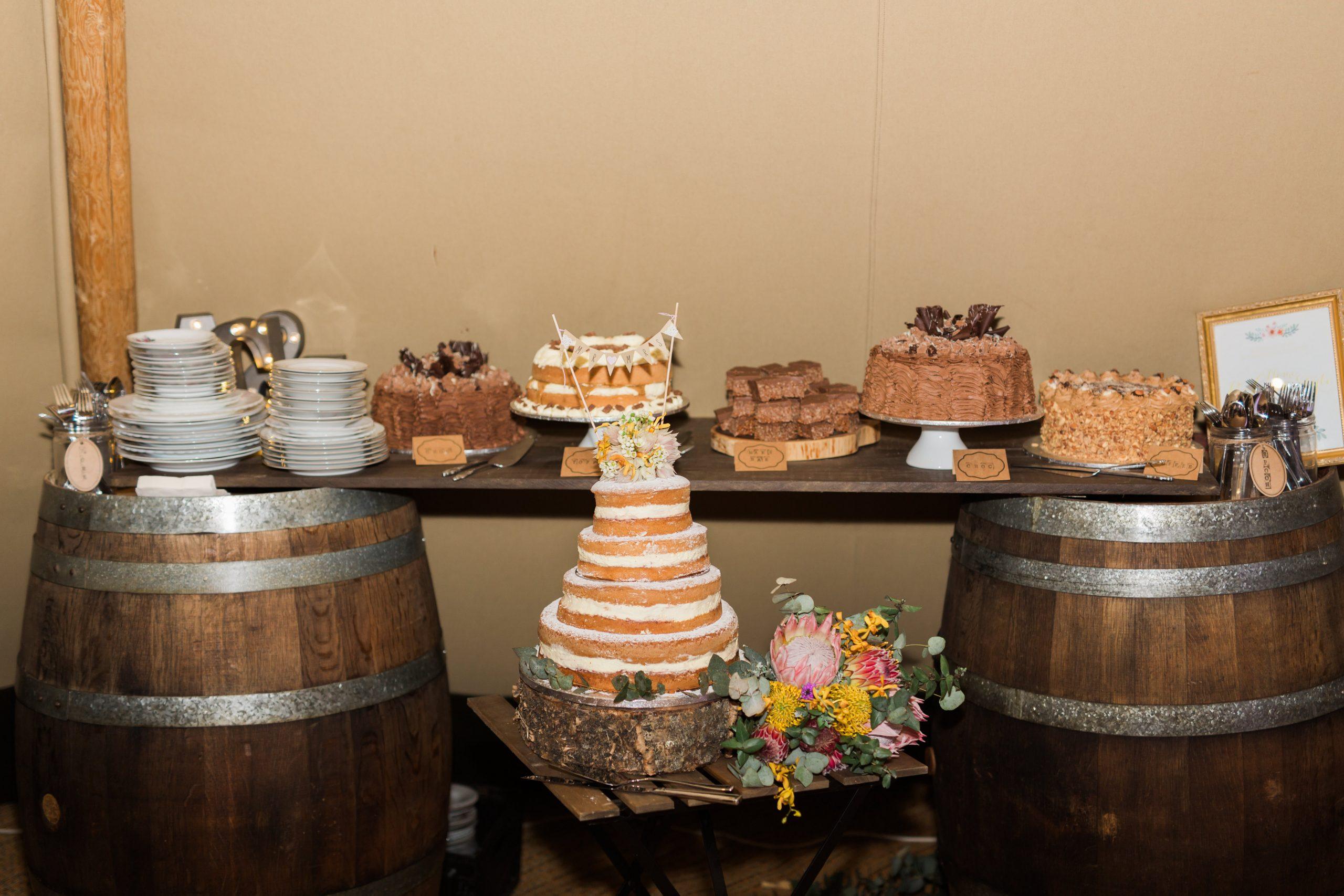 gold coast wedding, large marquee hire, wedding, tipi wedding, dessert table