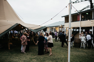 gold coast wedding, large marquee hire, wedding, tipi wedding
