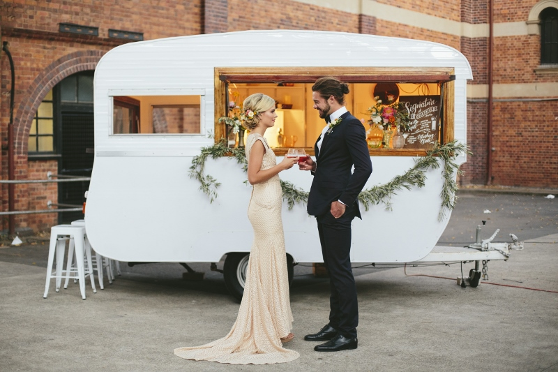 gathering events, caravan bar, gold coast tipis, gold coast wedding, mobile bar