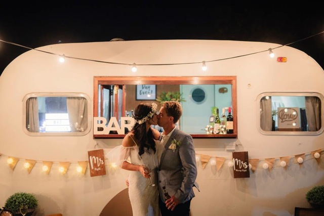 the original woodie, mobile bar, gold coast weddings, gold coast tipis, wedding hire, event hire