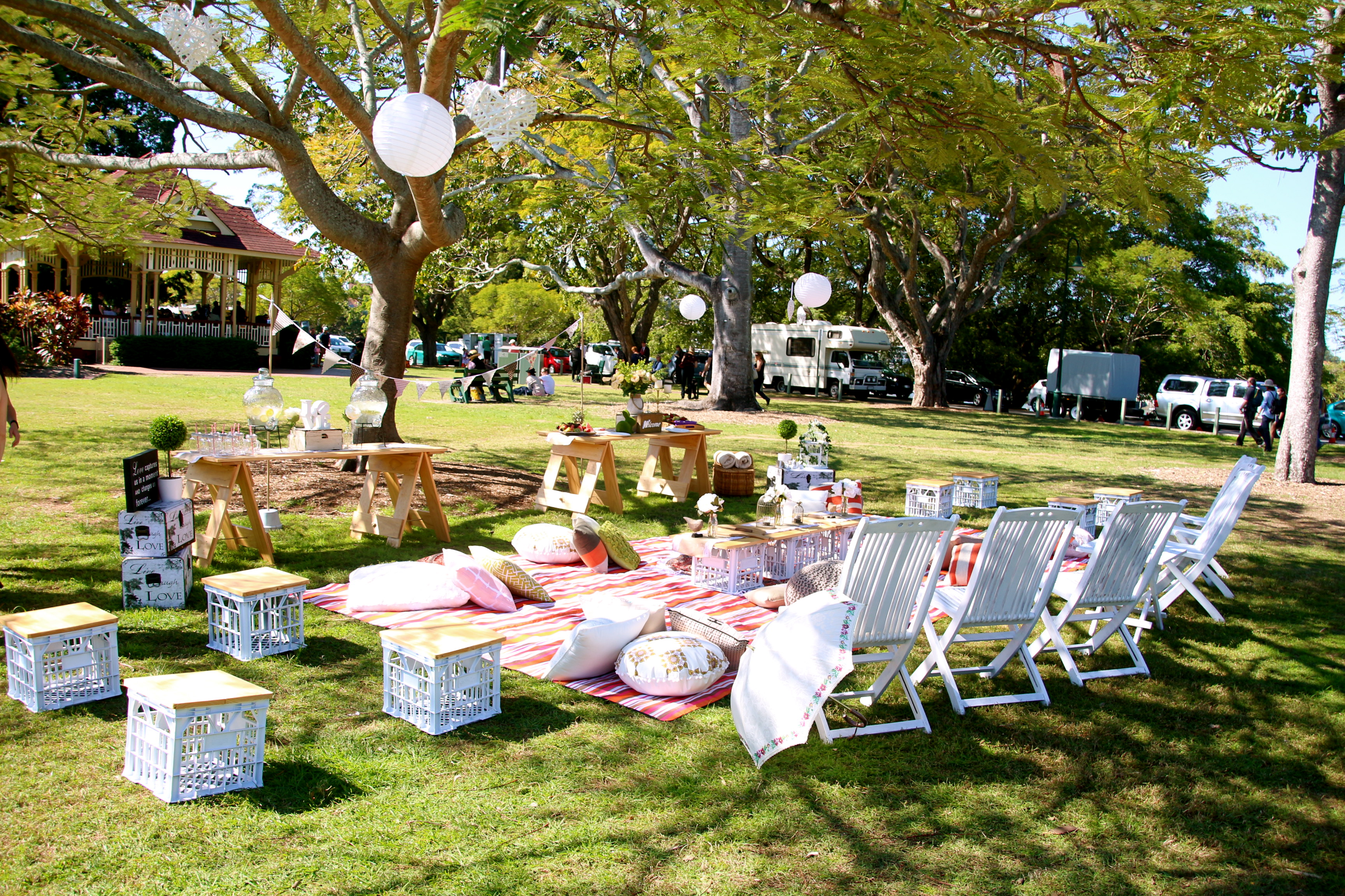 hens parties gold coast, picnic, catering gold coast, gold coast tipis, tipis, marquee hire, styling, event hire