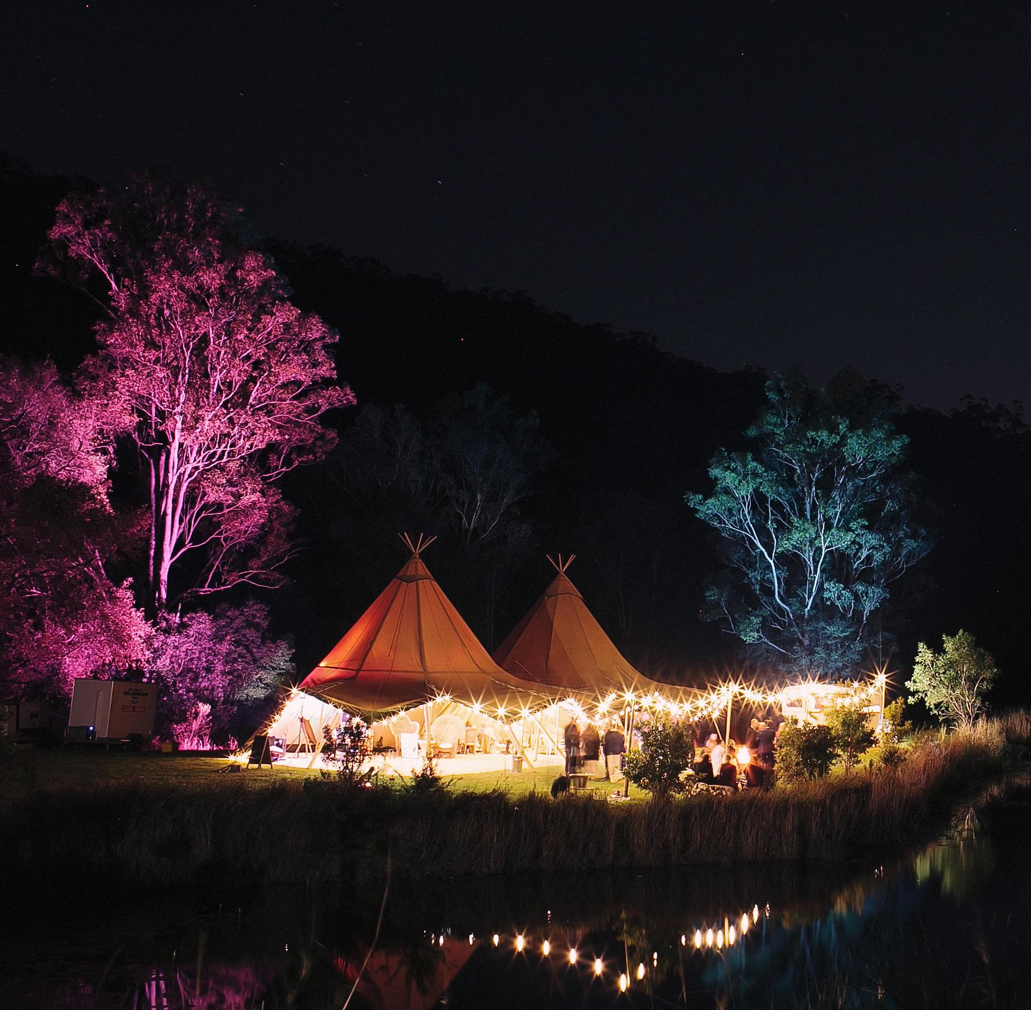 farmhouse numinbah, gold coast hinterland wedding, gold coast wedding, gold coast tipis, marquee hire, event hire, marquees, boho wedding