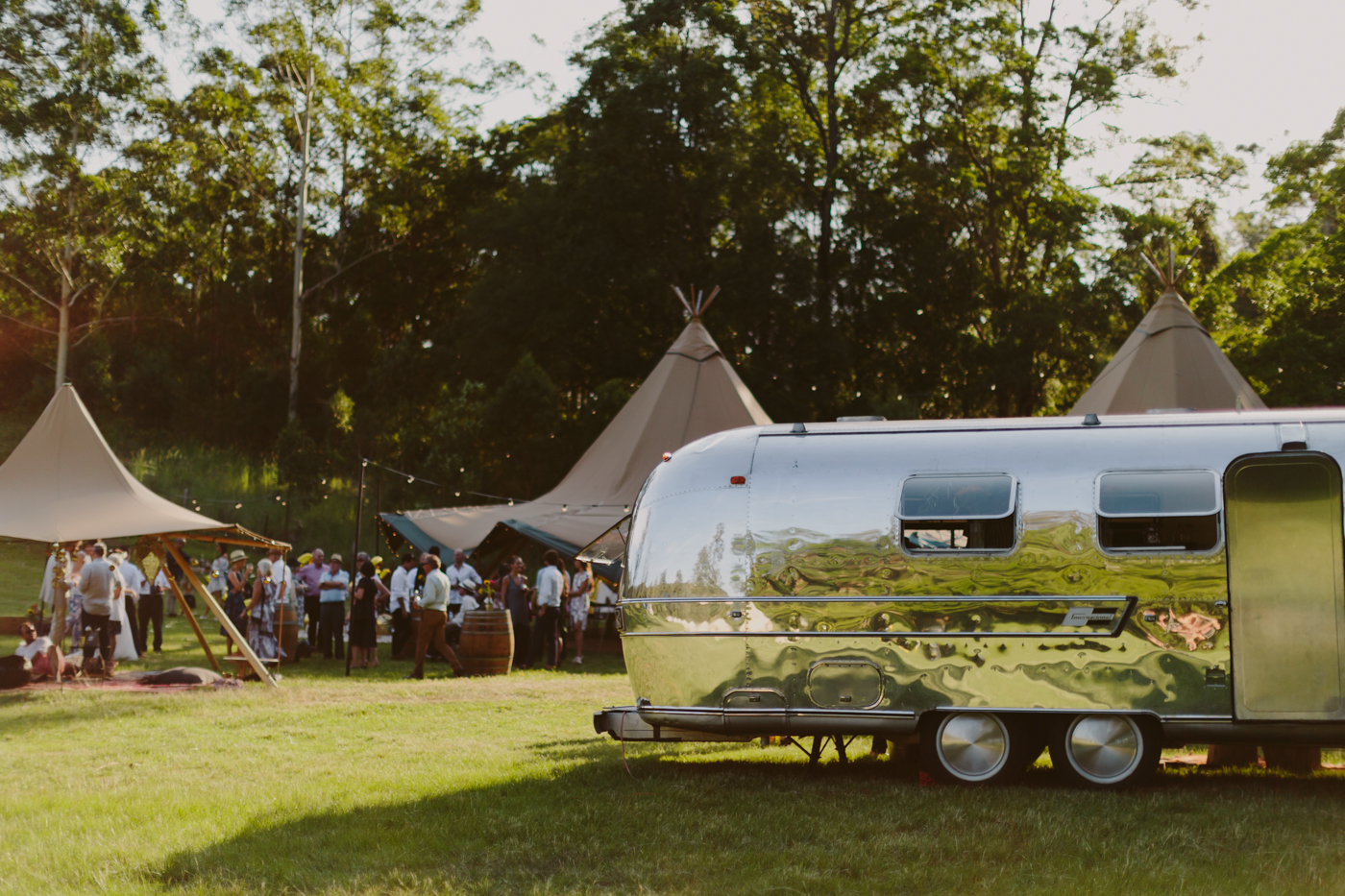 austral affairs, vintage caravan, tipi wedding, gold coast weddings, marquee hire, large marquee hire, event hire, tipi wedding