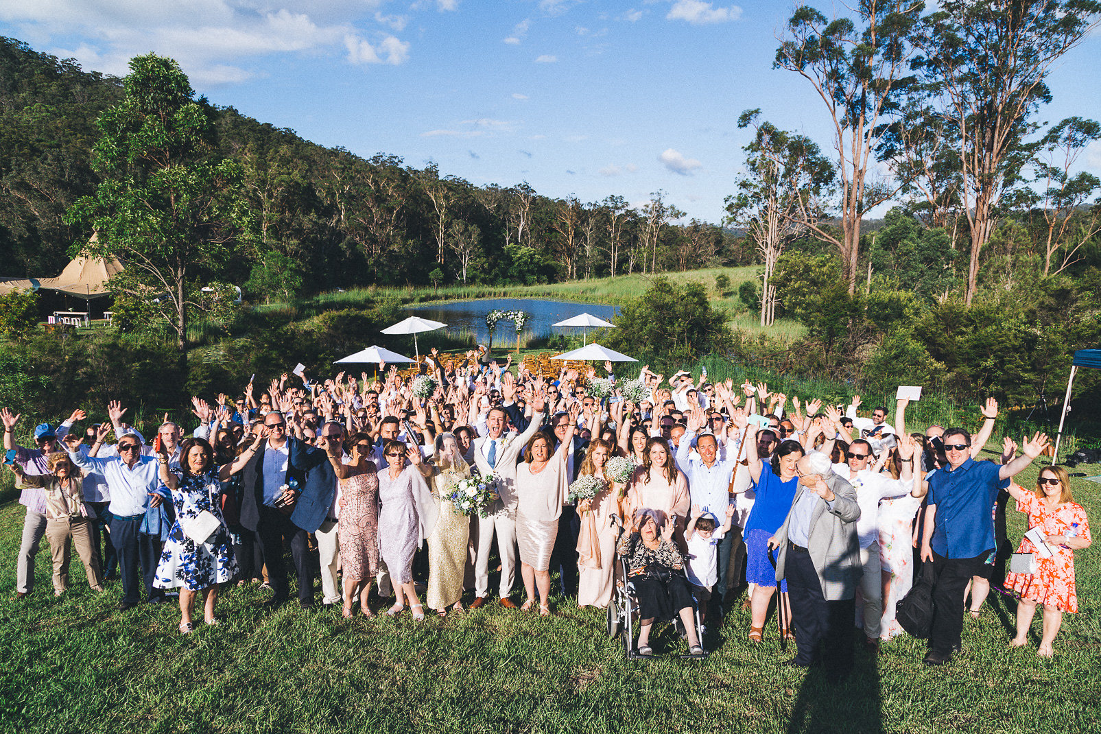 Gold Coast wedding, tipi wedding, gold coast, large marquee, event hire, tipi hire, wedding reception
