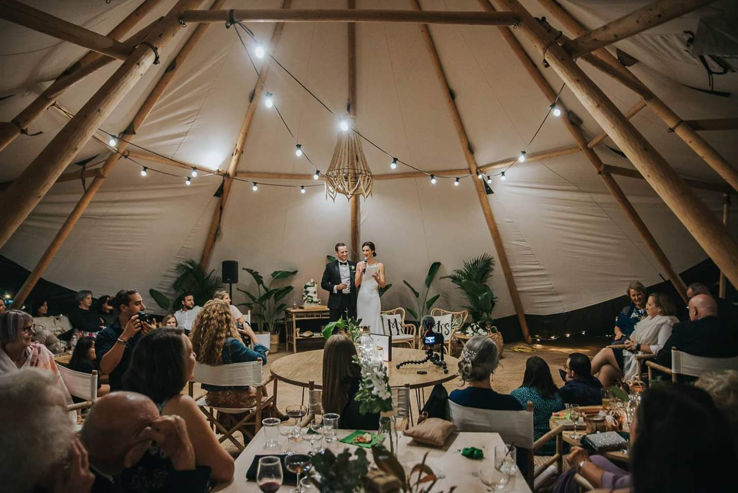 Kirra Hill Tipi Wedding Jess & Scott
