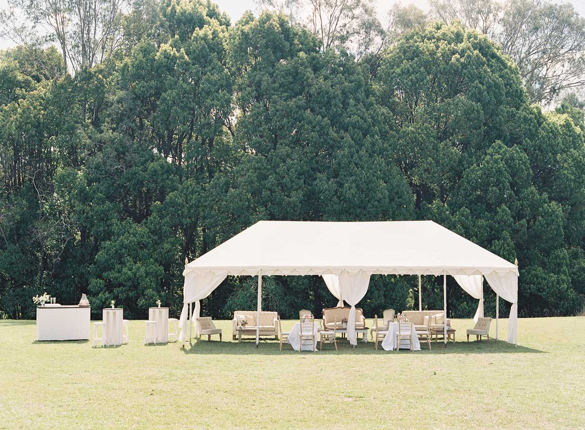 luxury marquee hire gold coast