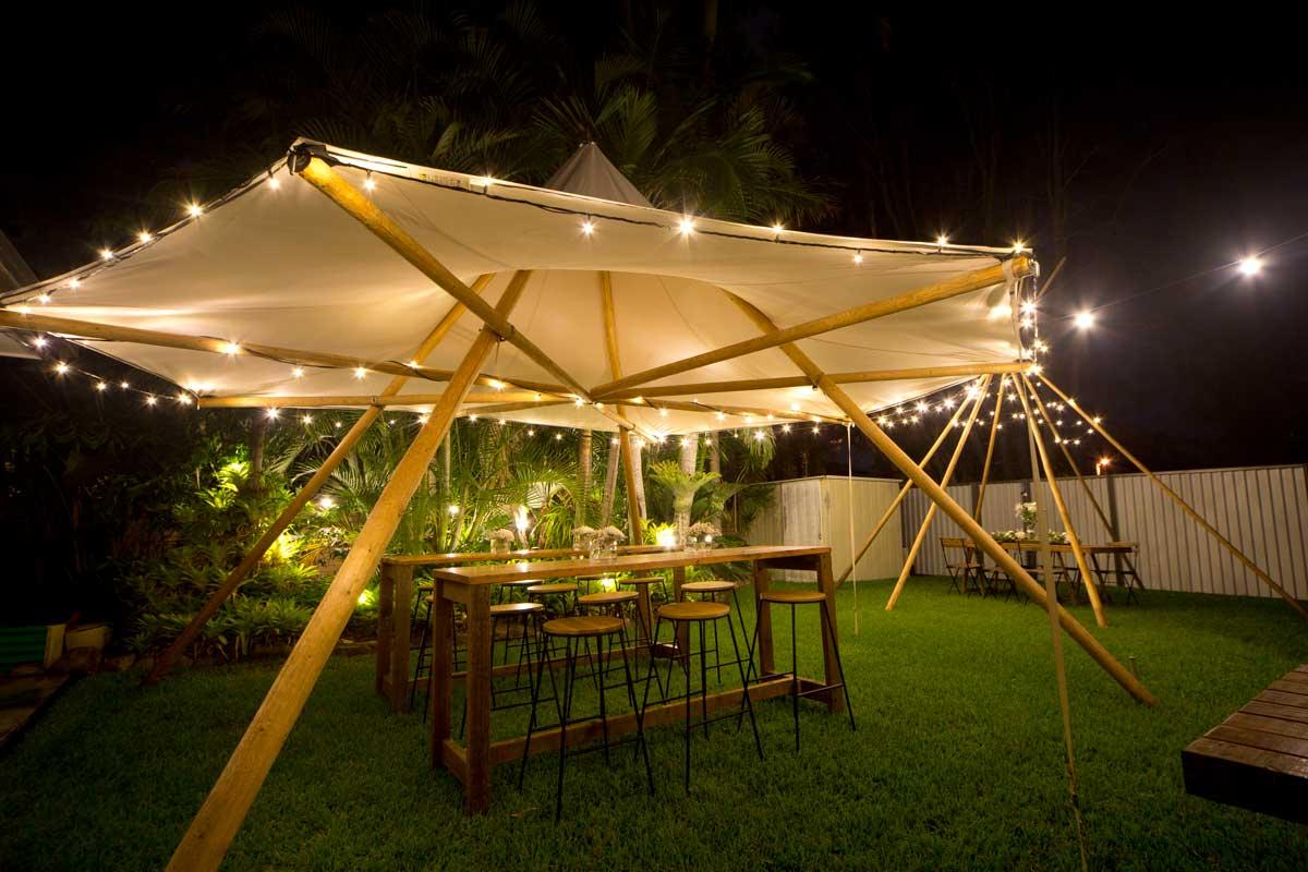 canopy tipi fairy light