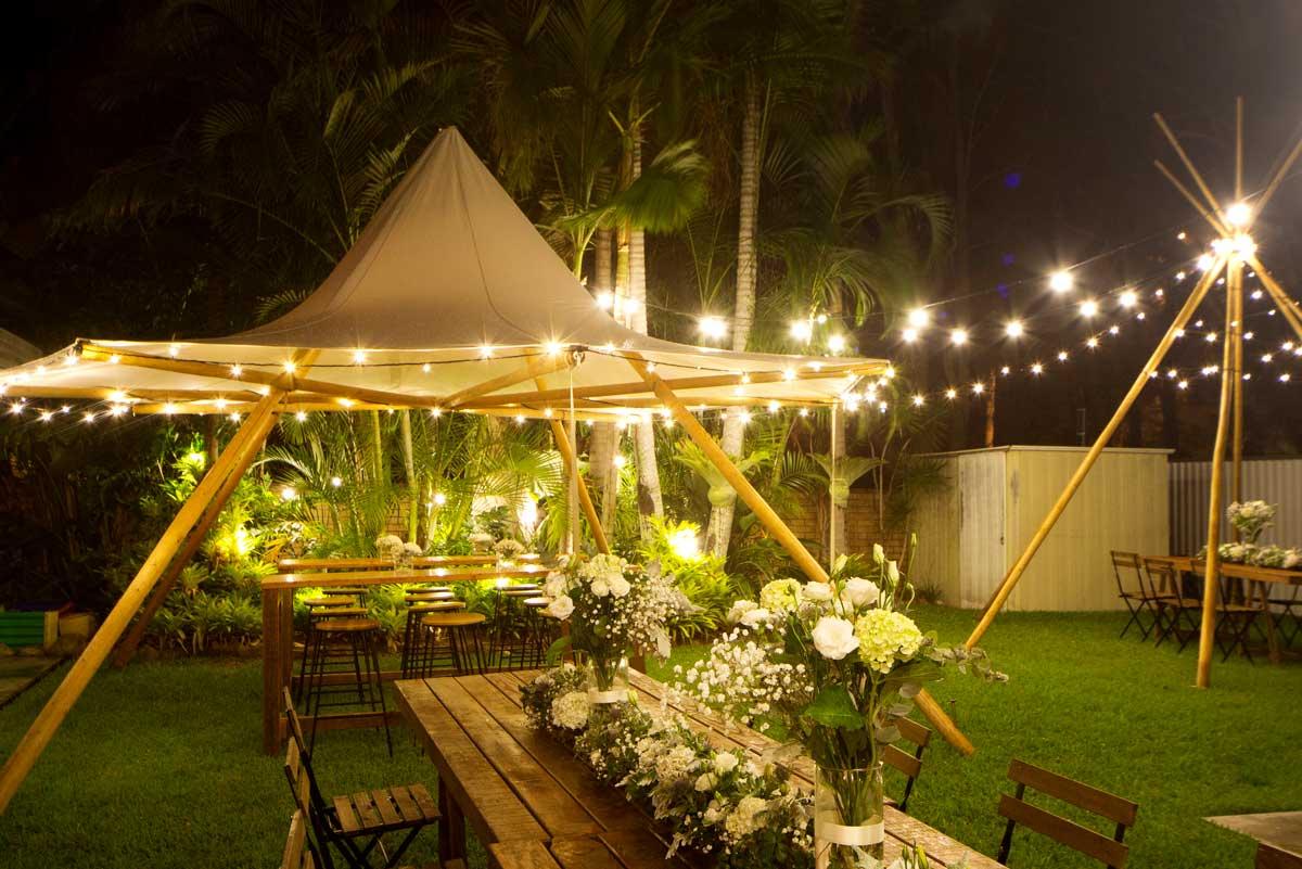 canopy tipi hire gold coast