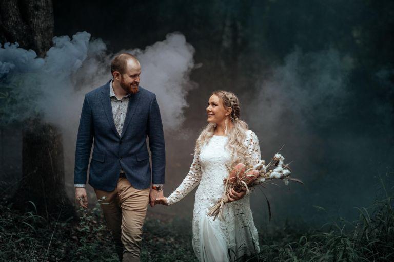 Cedar Creek Tipi wedding