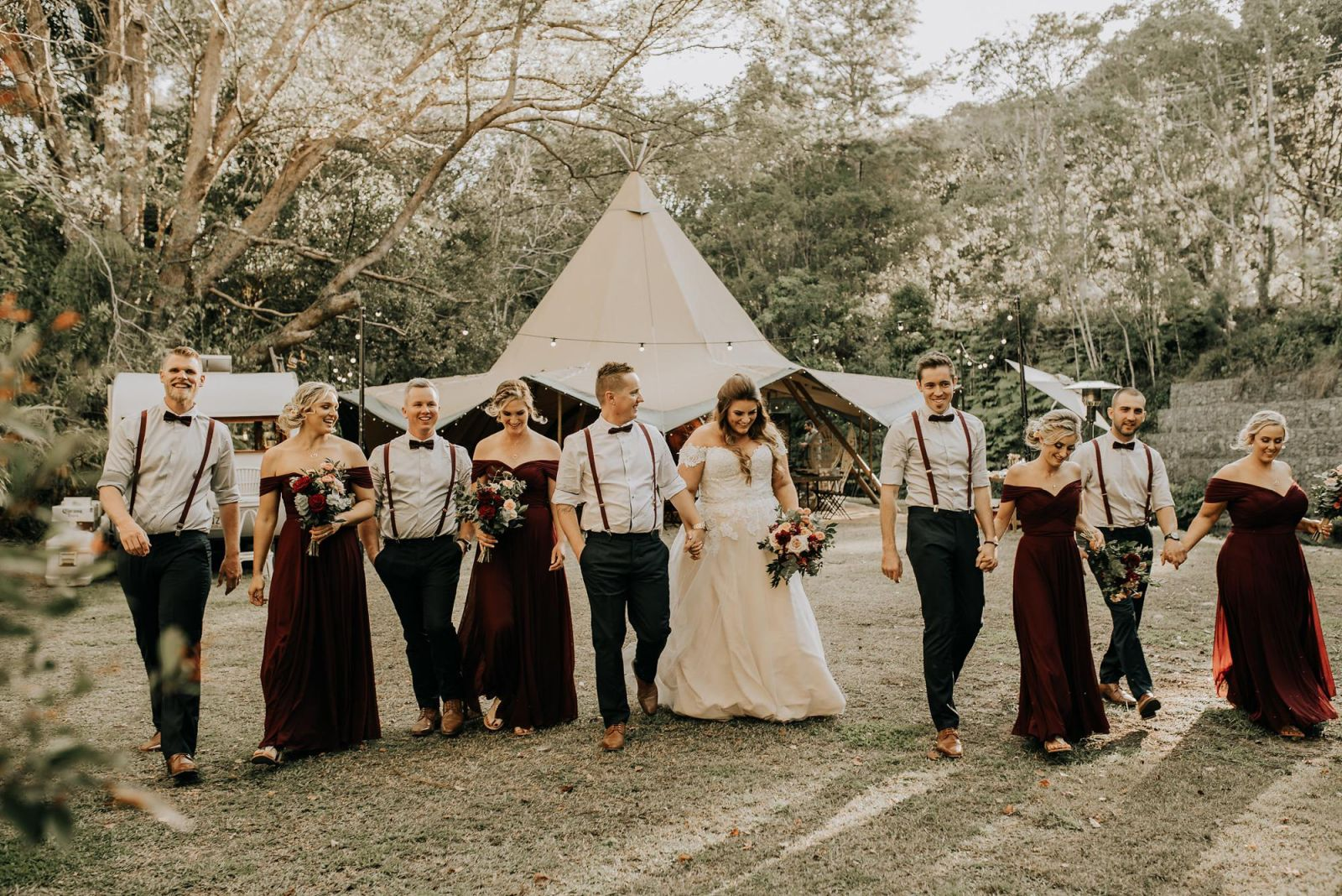 Sol Gardens Tipi Wedding