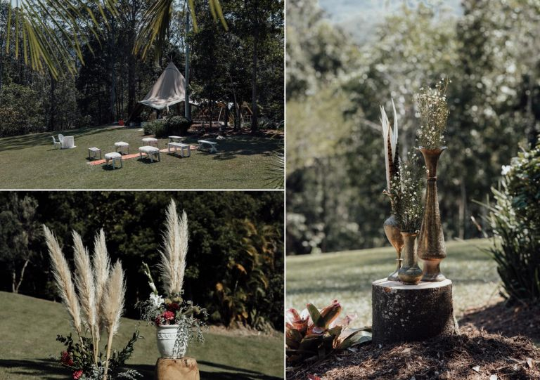 DIY Tipi Wedding