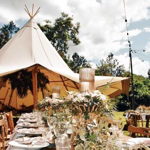 mavis kitchen tipi wedding